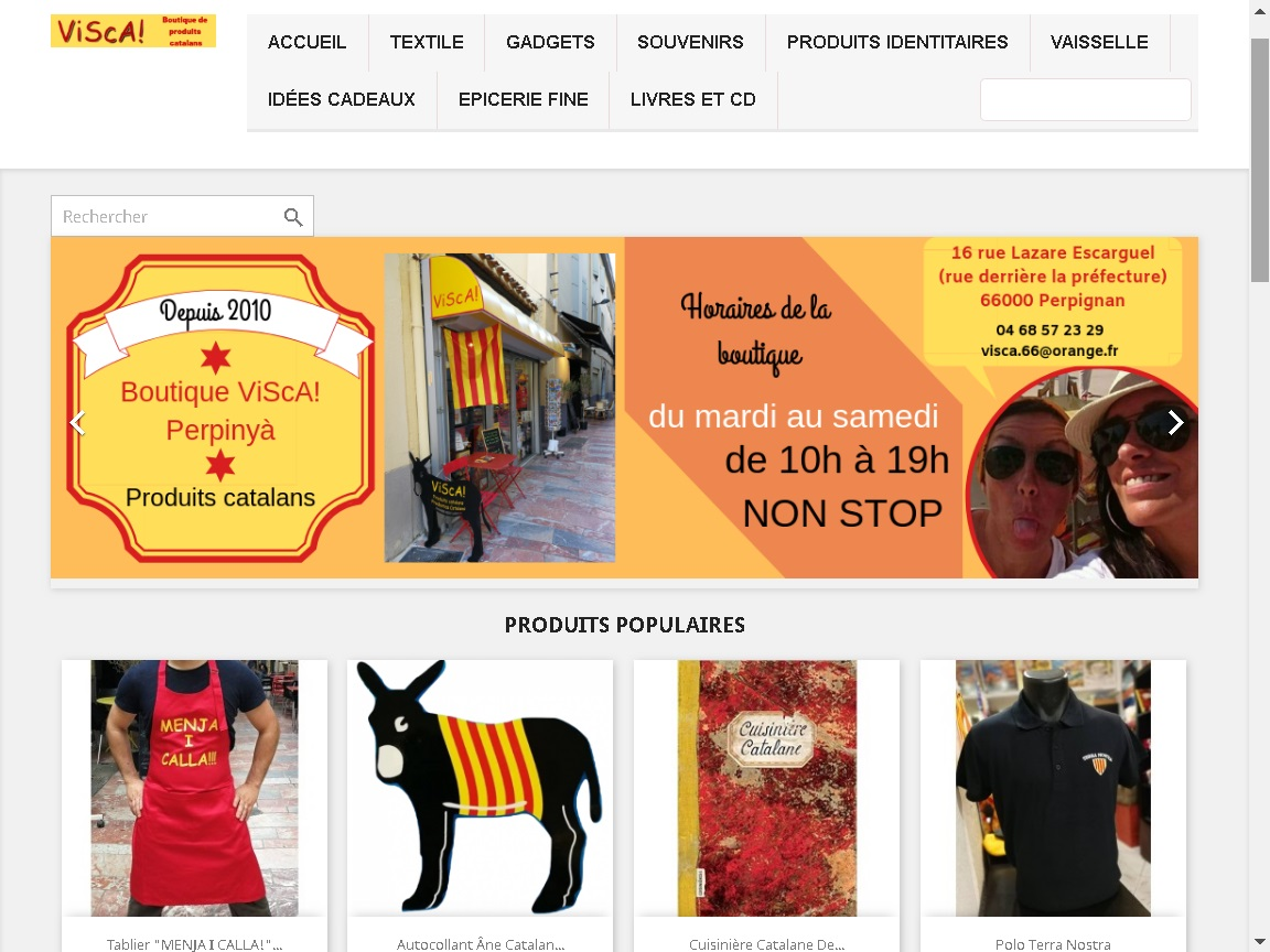 boutique web vente en ligne catalan