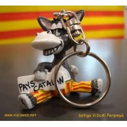 Key ring funny donkey