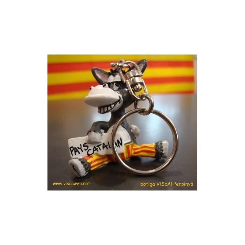 Clauer burro català de plastic