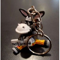 Porte-clés de l'âne rigolo en pvc
