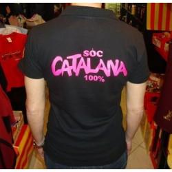 Polo femme soc catalana 100%
