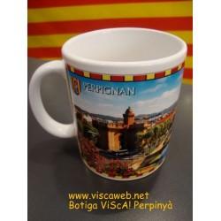 Mug catalan donkey