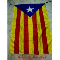 Flag catalan independent