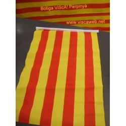 Bandera catalana  30cmx45cm