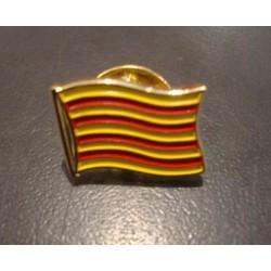Pin's drapeau catalan