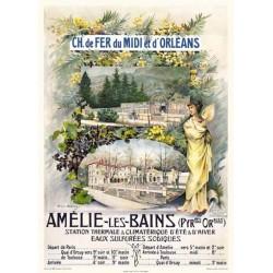 Cartell de publicitat Amélie els banys