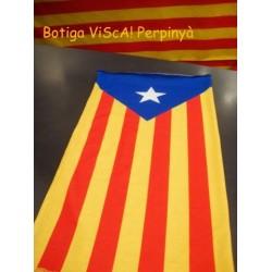 Tour de cou catalan estelada bleu