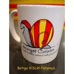 Mug of Catalan snail