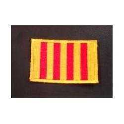 Brodat de la bandera catalana
