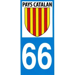 Sticker Catalonia flag 66