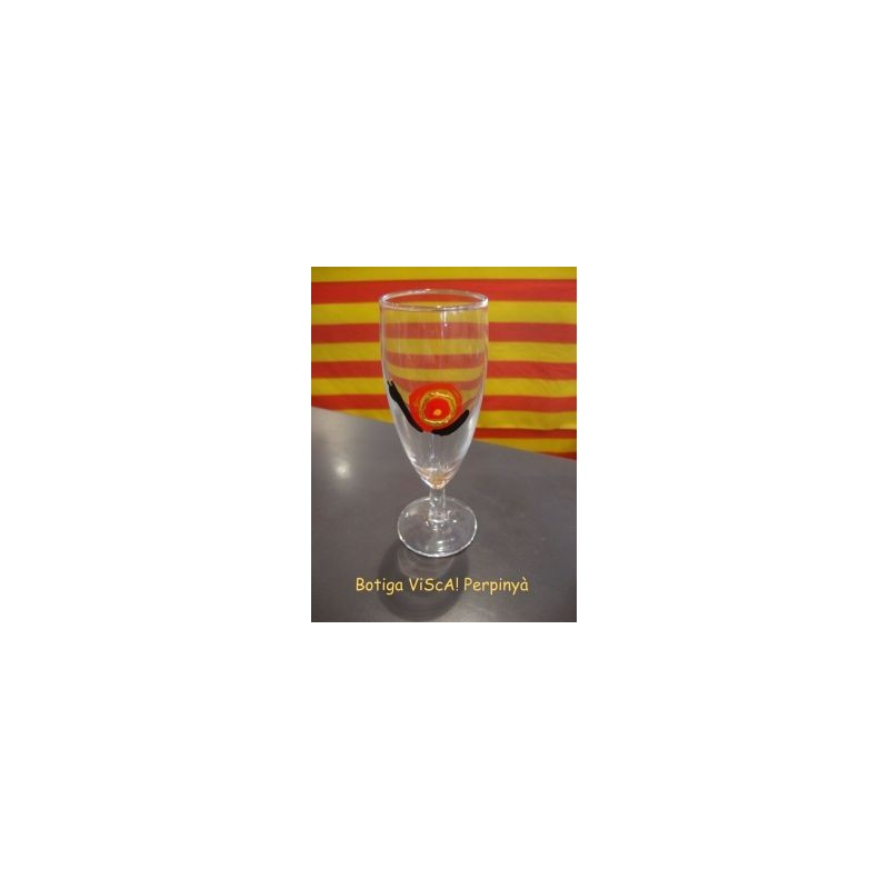 Copa a cava amb el cargol català