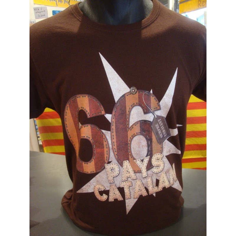 Tee-shirt catalan rugby