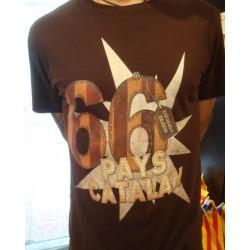 Tee-shirt noir rugby catalan