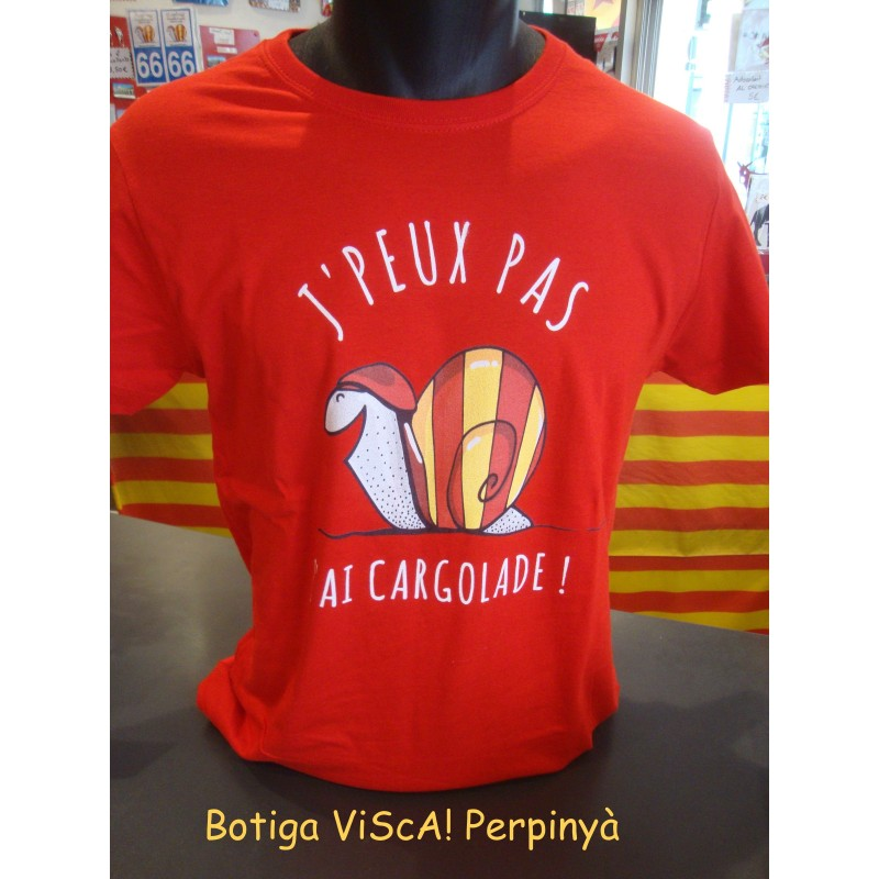 Tee-shirt catalan marron Pays catalan 66