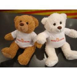 Os de peluix blanc amb samarreta Pays catalan