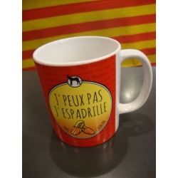 Mug j'peux pas j'espadrille