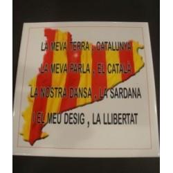 Dessous de plat ou carrelage carré Catalogne