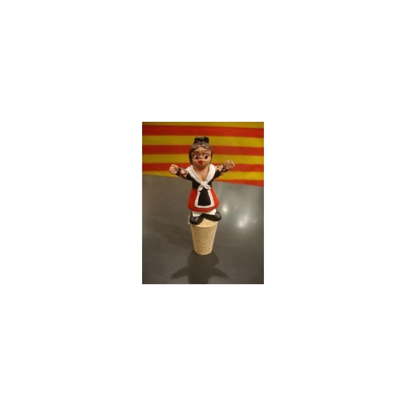 Tap ampolla de vin amb una catalana