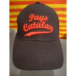 Casquette noire Pays catalan