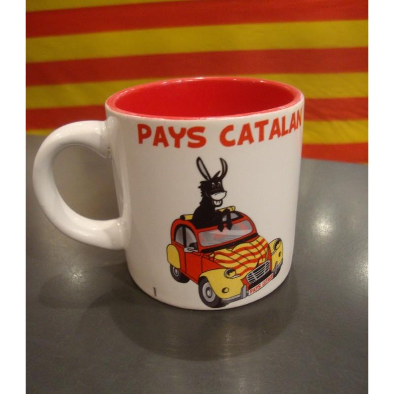Tasse 2CV Pays catalan