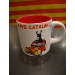 tassa petita 2CV Pays catalan