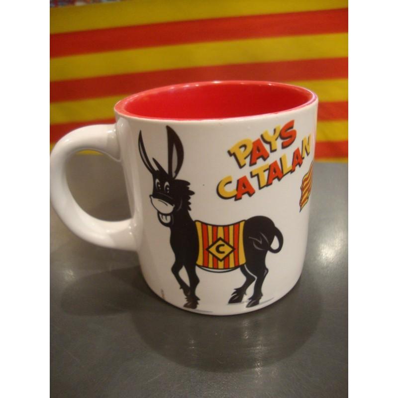 Tasse âne Pays catalan