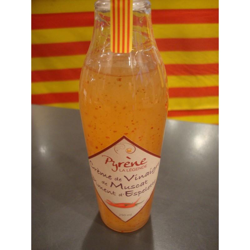 Crème de vinaigre de muscat Piment d'Espelette de la légende de Pyrène