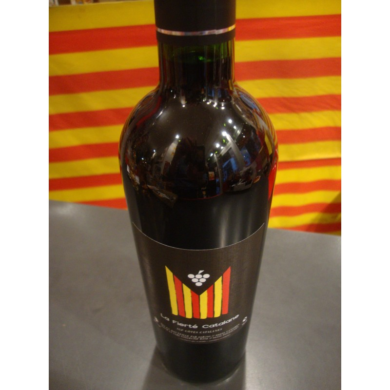 Vi negre La fierté catalane
