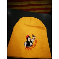 cap yellow with catalan