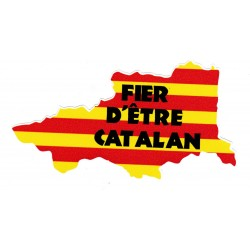 Adhesiu Fier d'être catalan