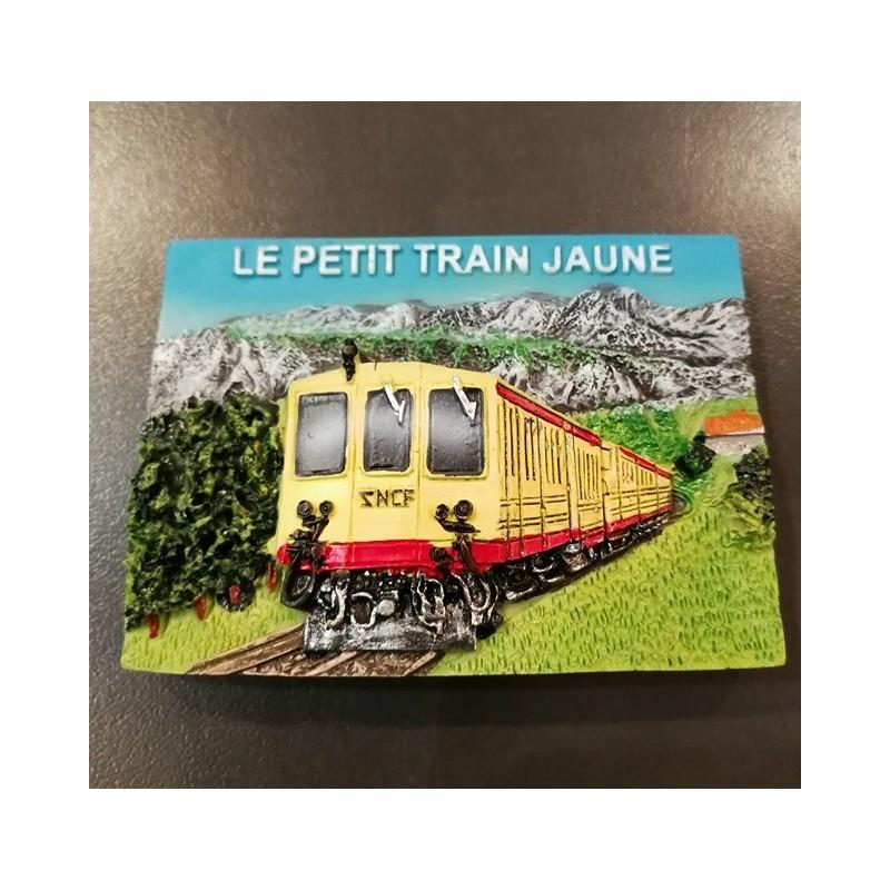 Magnet yellow train