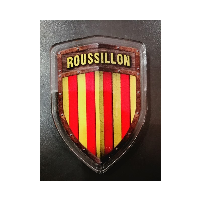 Magnet Blason catalan Roussillon