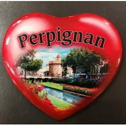 Magnet coeur Perpignan