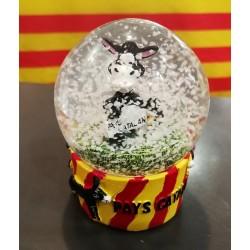 Boule à neige âne catalan