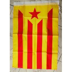 Drapeau indépendantiste catalan avec l'Estelada groga 60x90cm