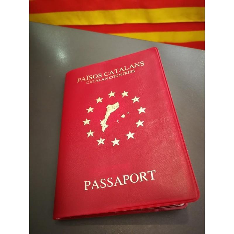 """Funda de passaport Català """"Països catalans"""""""