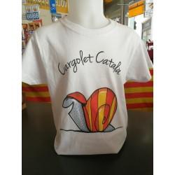 Tee-shirt children El cargolet català