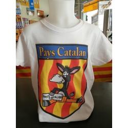 Tee-shirt children the catalan donkey
