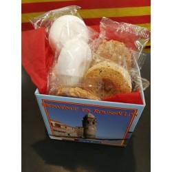 Coffret biscuits Bienvenue en Roussillon