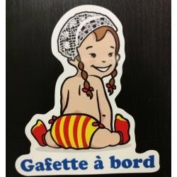 Sticker gafette à bord