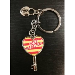 key ring heart catalan country
