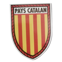 Sticker catalan flag