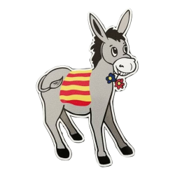 Sticker catalan donkey