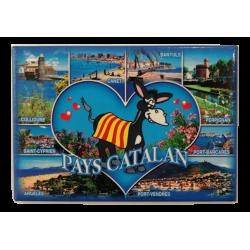 Magnet Pays catalan donkey