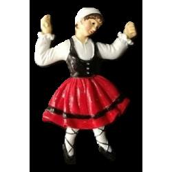 Magnet danseuse catalane