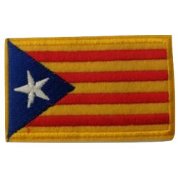 Patch 4x6cm independence...
