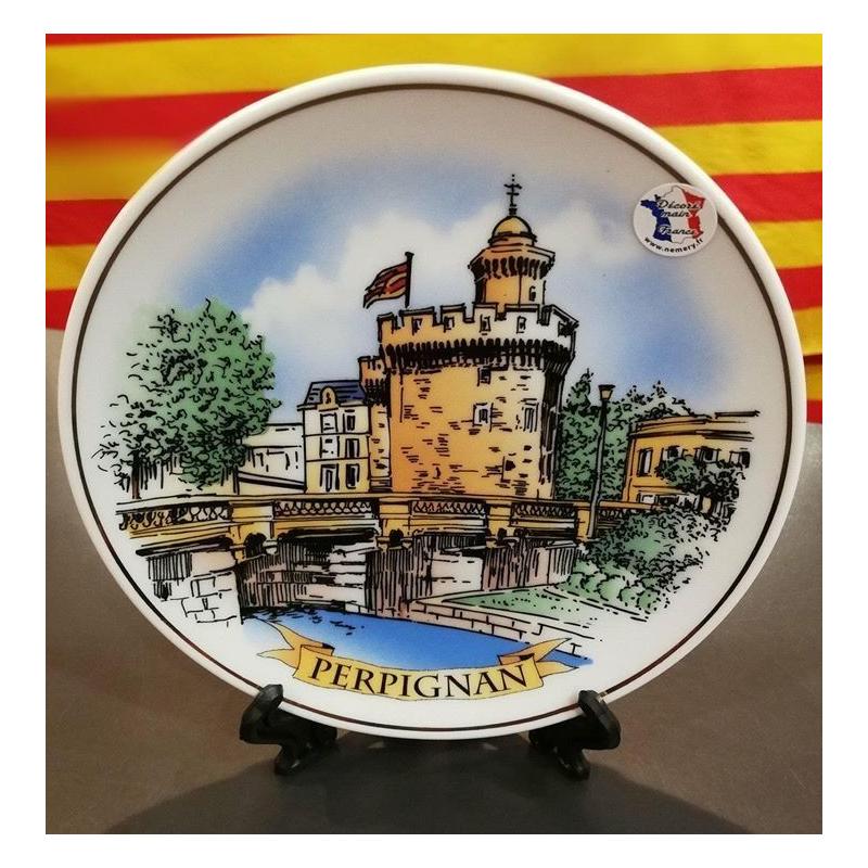 Assiette de décoration Perpignan