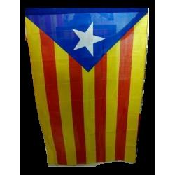Drapeau catalan avec l'Estelada bleue