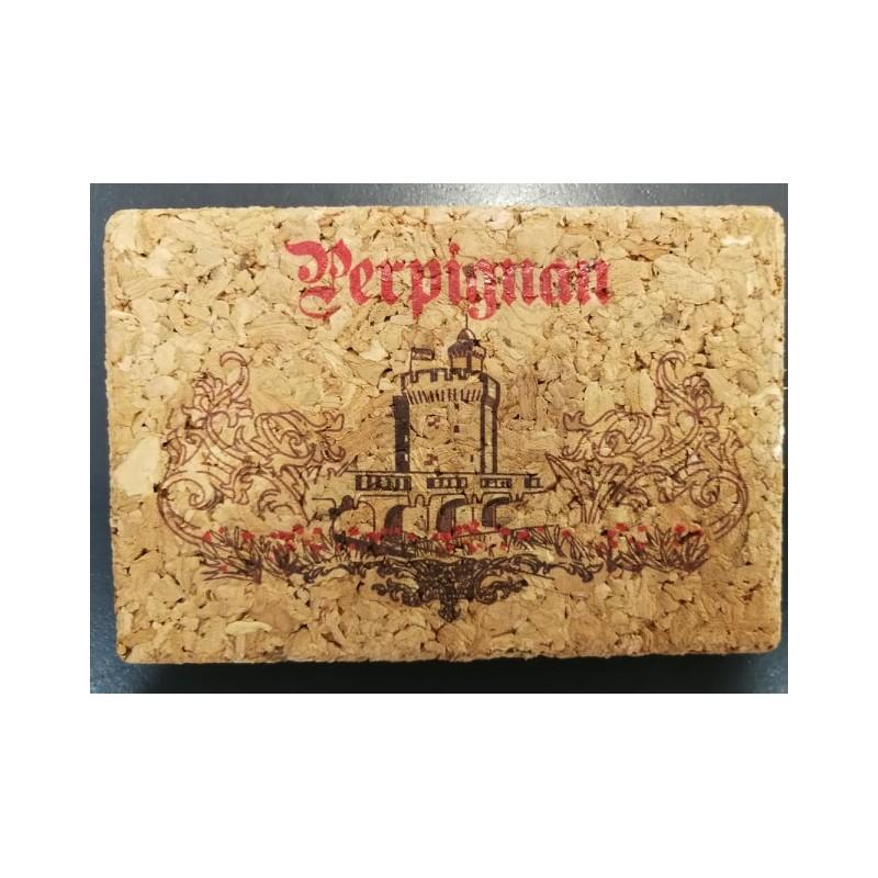 Magnet Perpignan cork