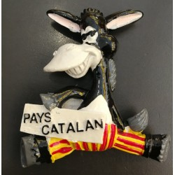 "Catalan Donkey Magnet ""Catalan Country"""
